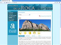 Senderos de la roca gu a de escalada de la provincia de for Roca de guia